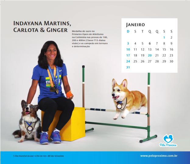 Atletas e cães terapeutas unidos por uma boa causa. (Foto: Luciana Botelha)