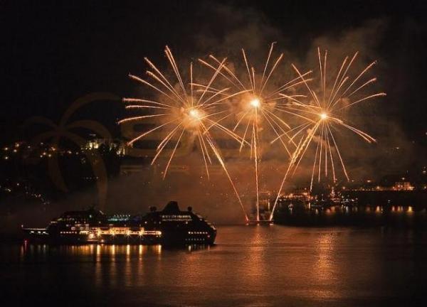 Fogos de artifício da Setti Fireworks. (Foto: Reprodução / Setti Fireworks)