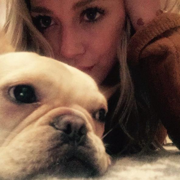 Foto antiga de Hilary Duff com Beau. (Foto: Reprodução / Instagram)