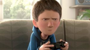 Menino fica bravo e rejeita o cãosinho por conta de sua deficiência. (Foto: Reprodução / CGMeetup)