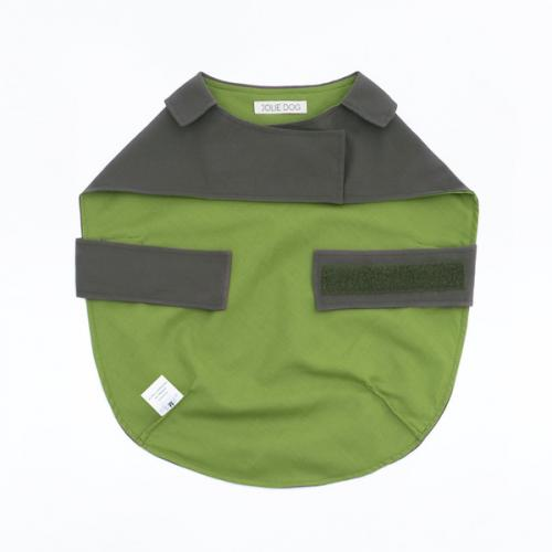 Velcro para prender na região do pescoço e do peito. (Foto: Reprodução / Jolie Dog)