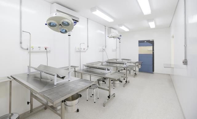Centro cirúrgico do Centro de Controle de Zoonoses de São Paulo.  (Foto: Cesar Ogata / SECOM)