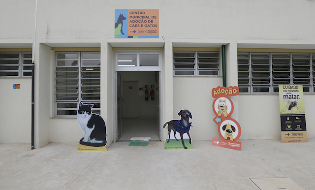 Inauguração do novo Centro Municipal de Adoção de Cães e Gatos. (Foto: Cesar Ogata / SECOM)