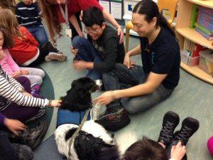 Emko leva Piggy para fazer visitas em escolas próximas a Nova York. (Foto: Reprodução / Tod Emko Darwin Animal Doctors)