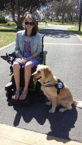 Lacey acompanha Erin em todos os lugares. (Foto: Reprodução / Facebook Life With Lacey)