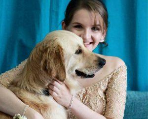 Lacey chegou para tornar a vida de Erin mais fácil e independente. (Foto: Reprodução / Facebook Life With Lacey)
