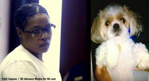 Após julgamento demorado, Haniyyah Barnes foi condenada por causar a morte de um cão nos Estados Unidos. (Foto: Reprodução / Patti Sapone / NJ Advance Media)