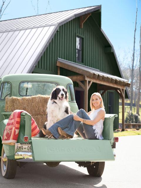 Sheryl Crow mostrou sua casa. (Foto: Reprodução / Country Living)
