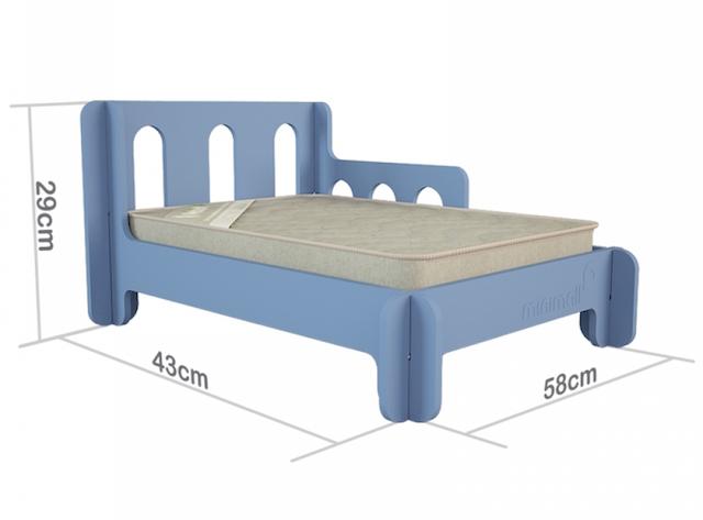 Dimensões da BabySlip tamanho P. (Foto: Divulgação)
