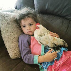 O amor e a compaixão que a menina sente pelos animais é visível e emocionante. (Foto: Reprodução / Greener Pastures Sanctuary)