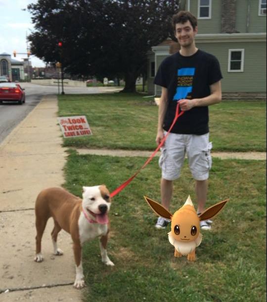 Essa foto foi publicada por Emily Atkinson, que contou que a cachorrinha Maya ajudou na caçada.(Foto: Reprodução / Facebook / Muncie Animal Shelter)
