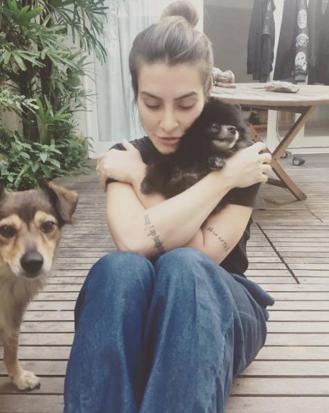 Cleo é apaixonada por seus pets. (Foto: Reprodução / Instagram)