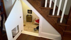 Tutora preparou um cantinho bem especial para o seu cão na nova casa. (Foto: Reprodução / Imgur Fatisbac)