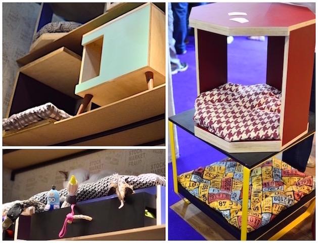 Mesas de canto e caminha com gaveta para brinquedos. (Fotos: Karina Sakita)