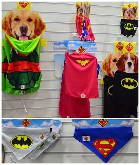 Fantasias criadas especialmente para cães. (Fotos: Karina Sakita)