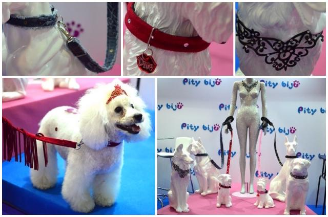 As novidades da Pity Biju, E a poodle Pity não poderia ficar de fora da feira! (Fotos: Karina Sakita)