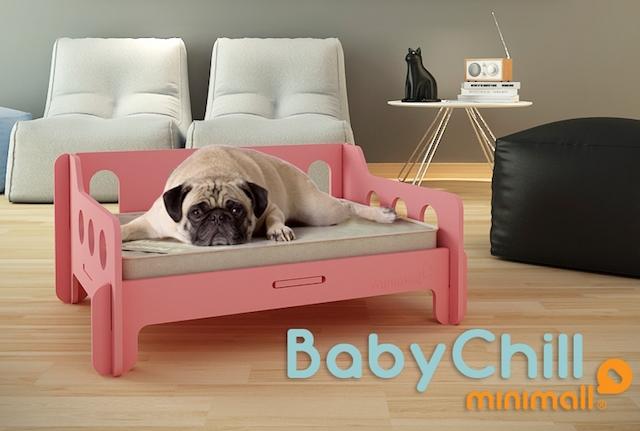 Sofá para cães da Minimall. (Foto: Divulgação)