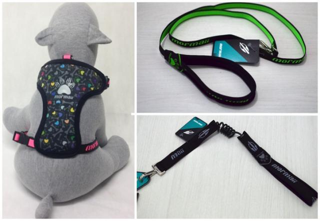 Alguns produtos da coleção Mormaii da Dog Club. (Montagem: Karina Sakita)