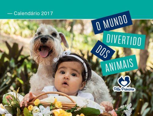 Capa do calendário. (Foto: Divulgação / Projeto Pêlo Próximo)