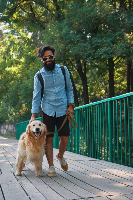 quanto tempo passear com cachorro