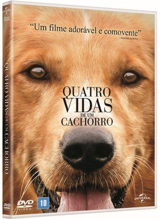 Filme para cachorro - Quatro Vidas de um cachorro (2017)