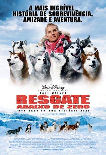 Filme para cachorro - resgate abaixo de zero